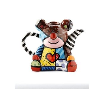Britto Teapot, Coffeepot Bear, Teddy Bear