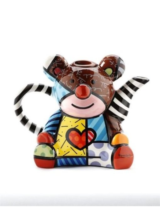 Britto Teapot, Coffeepot Bear, Teddy Bear