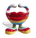 Niloc Pagen Lip Bowl Lipstick - Rainbow - L