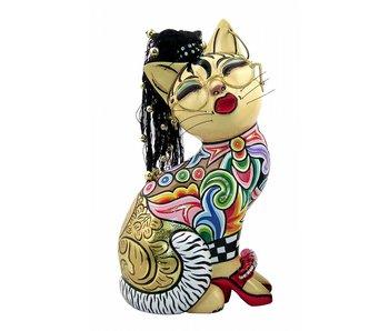 Toms Drag Kattenbeeldje, kat Nelly - L