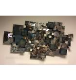 C. Jeré - Artisan House Wanddecoratie Aquous, 3-D object in metaal van C. Jeré