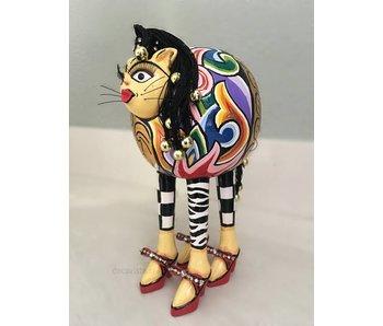 Toms Drag Figur  Katze Whoopi  - M