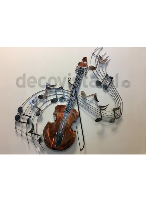 Wall decoration singing violin