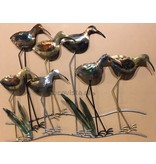 Wall decoration curlew