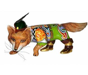 Toms Drag Fox, estatua de zorro Robin