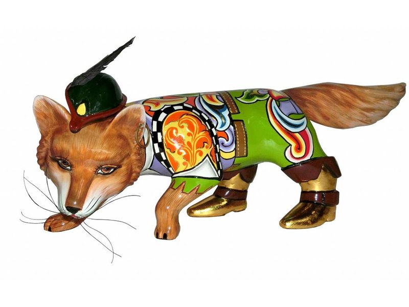 Toms Drag Vos, vossenbeeld Robin