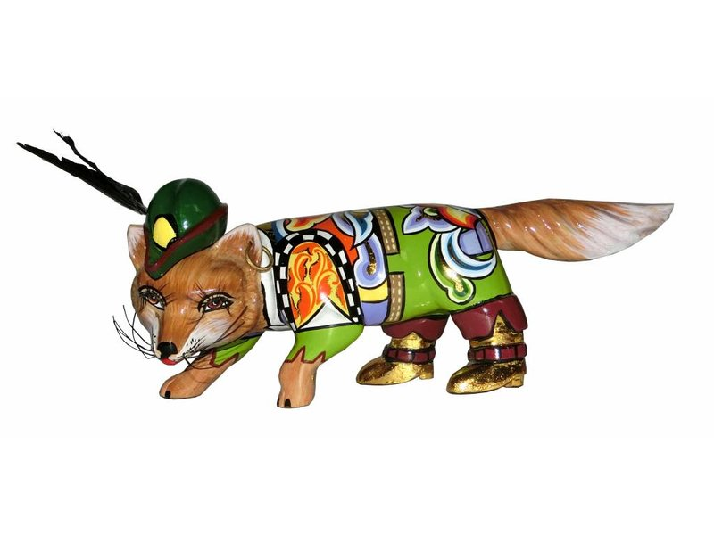 Toms Drag  Fox, fox statue Robin