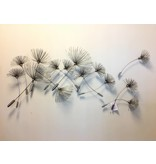 C. Jeré Metalen wanddecoratie  Dandelions, Paardebloemen