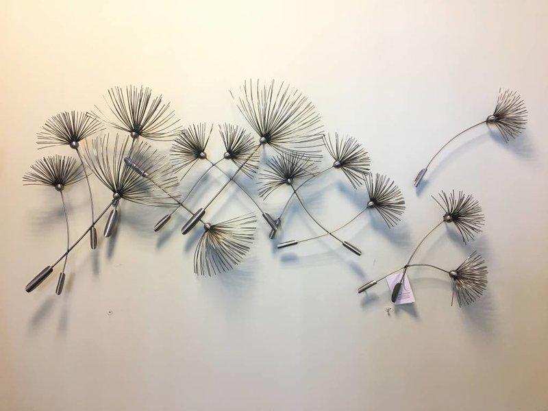 C. Jeré - Artisan House Metalen wanddecoratie  Dandelions, Paardebloemen