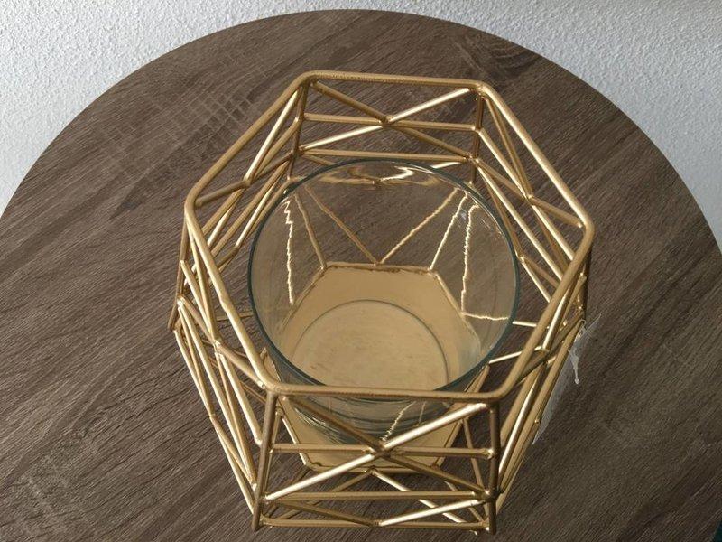 Rocaflor Grafischer Teelichthalter