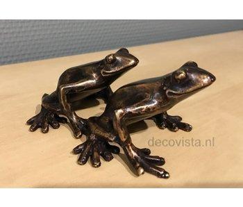 Baumfrosch-Set Bronze