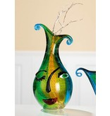 Eldig Glass design vase Face