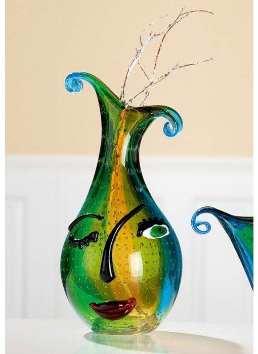 Eldig Künstlerische Vase Twinkle Face