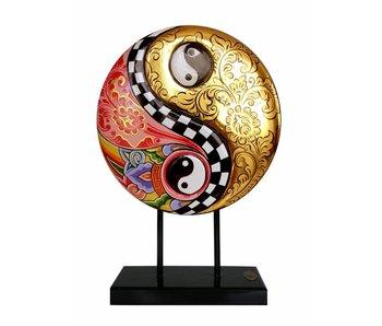 Toms Drag Yin-Yang Symbool