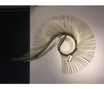 C. Jeré Swan wall art sculpture by C. Jeré