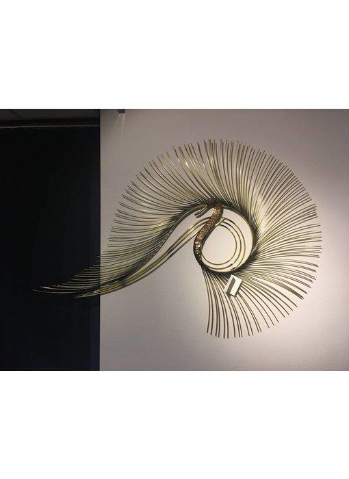 C. Jeré Wandskulptur Swan