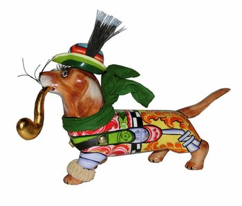 Toms Drag Dog statue Dachshund