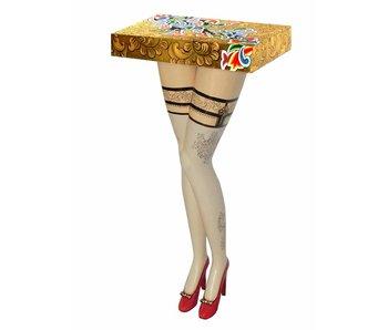Toms Drag Tafel, wandtafel Lady's legs
