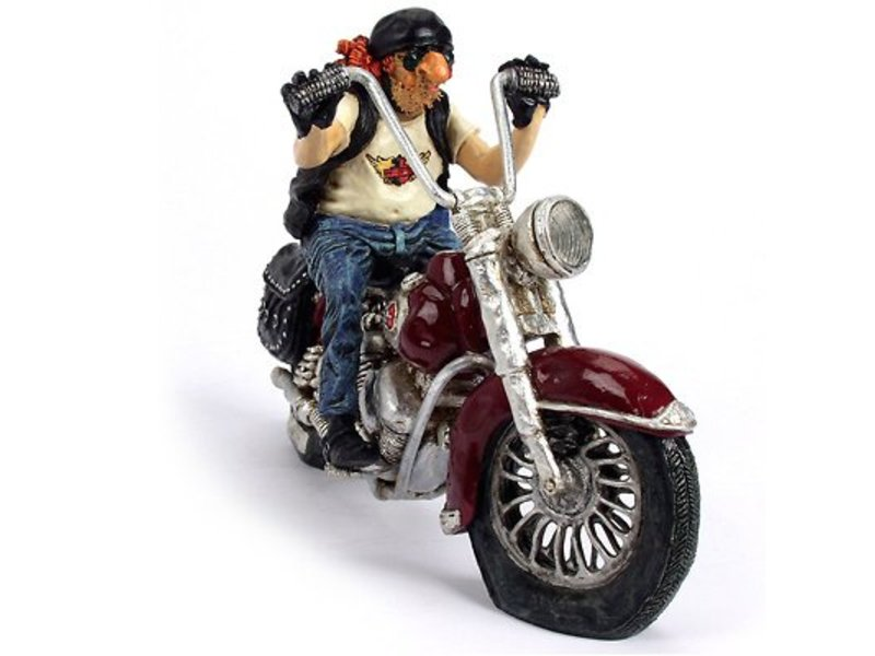 Forchino Sculpture of The motorbike, motorcyclist
