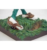 """Forchino The golfer, humorous figurine  """"Fore"""""""