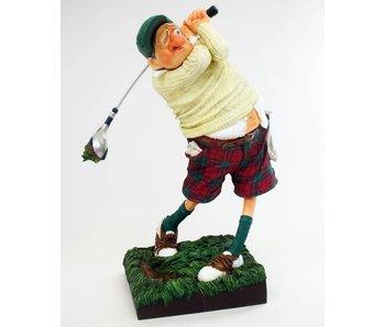Forchino Caricatura el golfista