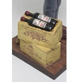 Forchino Caricature statue The wine taster