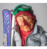 Forchino The skier, caricature