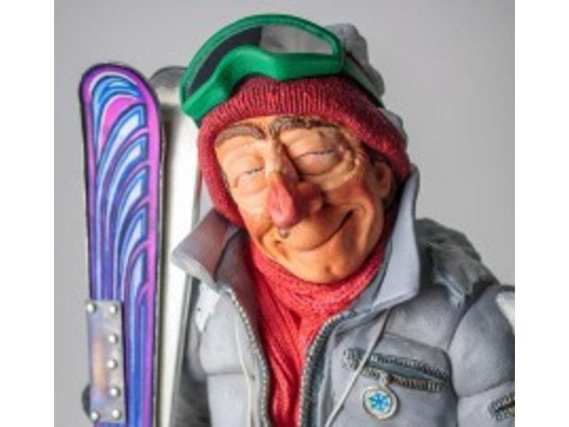 Forchino De skieër, karikatuur