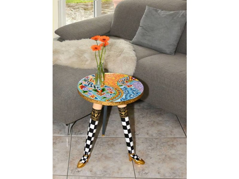 Toms Drag Side table Lola, round