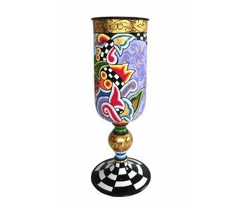 Toms Drag Hohe Vase auf Fuß - M