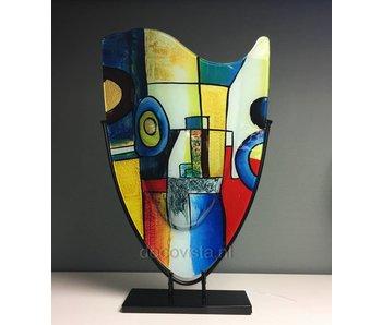 Vase Pop-Art, high