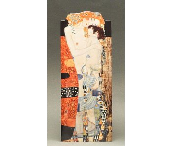 Silhouette d'Art - John Beswick Museum vase - Gustav Klimt - The Three Ages of Woman