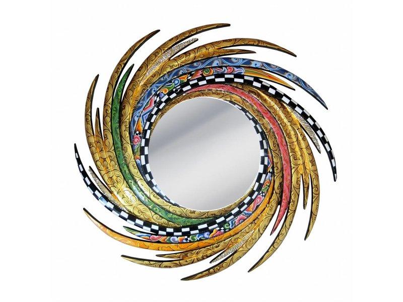 Toms Drag Spiegel Energy Classic Line - M, Dekorative, runde Spiegel