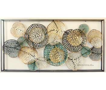 Frame-Art GaSp Wanddecoratie  Plantae