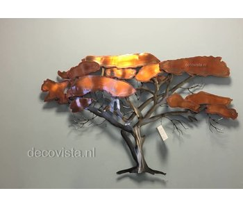 C. Jeré Wall  sculpture Acacia