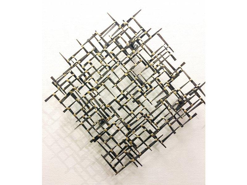 C. Jeré Wall  sculpture  Random Act 3 pc. - C. Jeré
