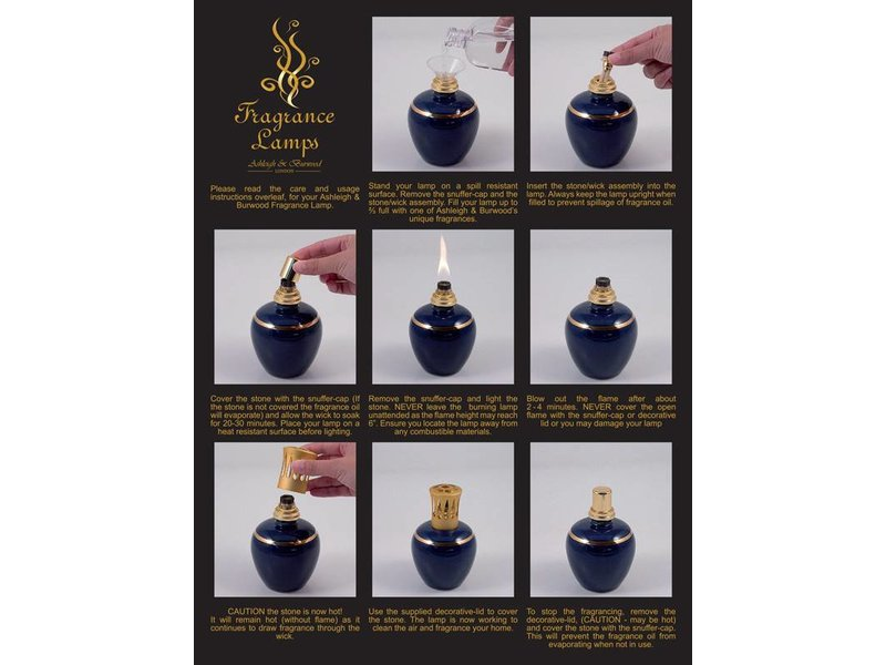 Ashleigh & Burwood Duftlampe Deep Purple - L