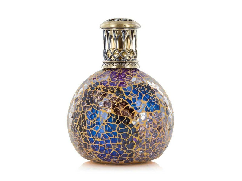Ashleigh & Burwood Fragrance Lamp  Metallion Copper Blue  - S