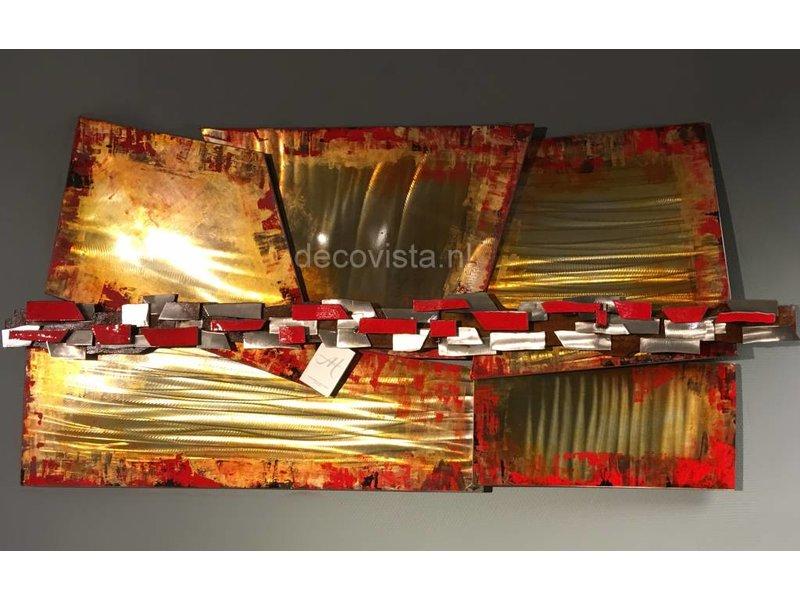 C. Jeré Metalen wanddecoratie Inception