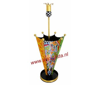 Toms Drag Umbrella stand with crown