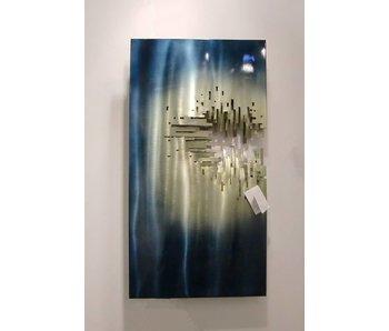 C. Jeré Metal wall art sculpture - From the Depths