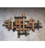 C. Jeré Metalen wanddecoratie Fortitude