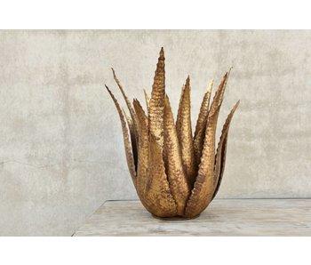 Rasteli Agave, metal gold bronze