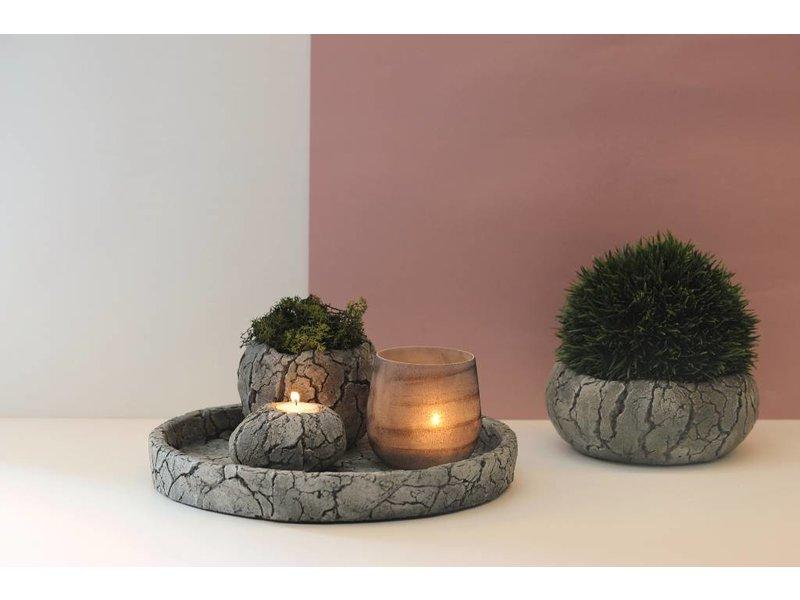 Rasteli Plant pot Scorched Earth - Copy