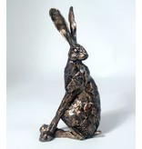 Frith Haas sculptuur  hazenbeeld  Looking Back van Paul Jenkins