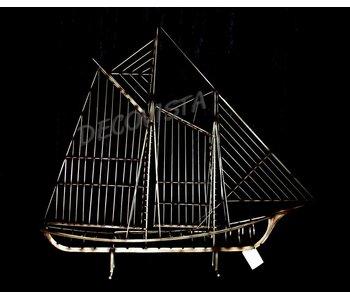 C. Jeré - Artisan House Skulptur Segelboot The Mariner Metal Skulptur