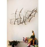 C. Jeré - Artisan House Wall decoration Flock of Birds, Seagulls II - Brass