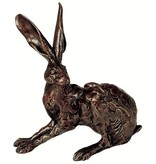 Frith Hare sculpture - crouching hare
