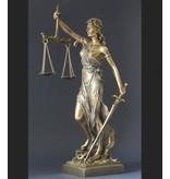 BodyTalk Themis Escultura representa la justicia y el equilibrio