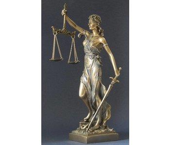 BodyTalk Vrouwe Justitia beeldje
